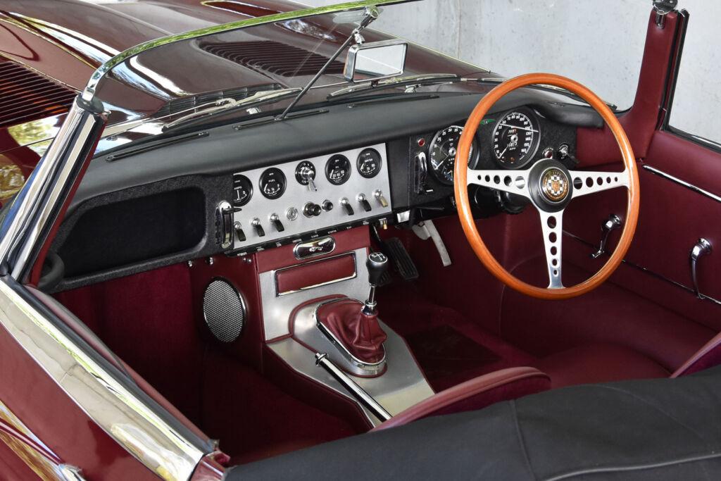 A beautifully restored dashboard