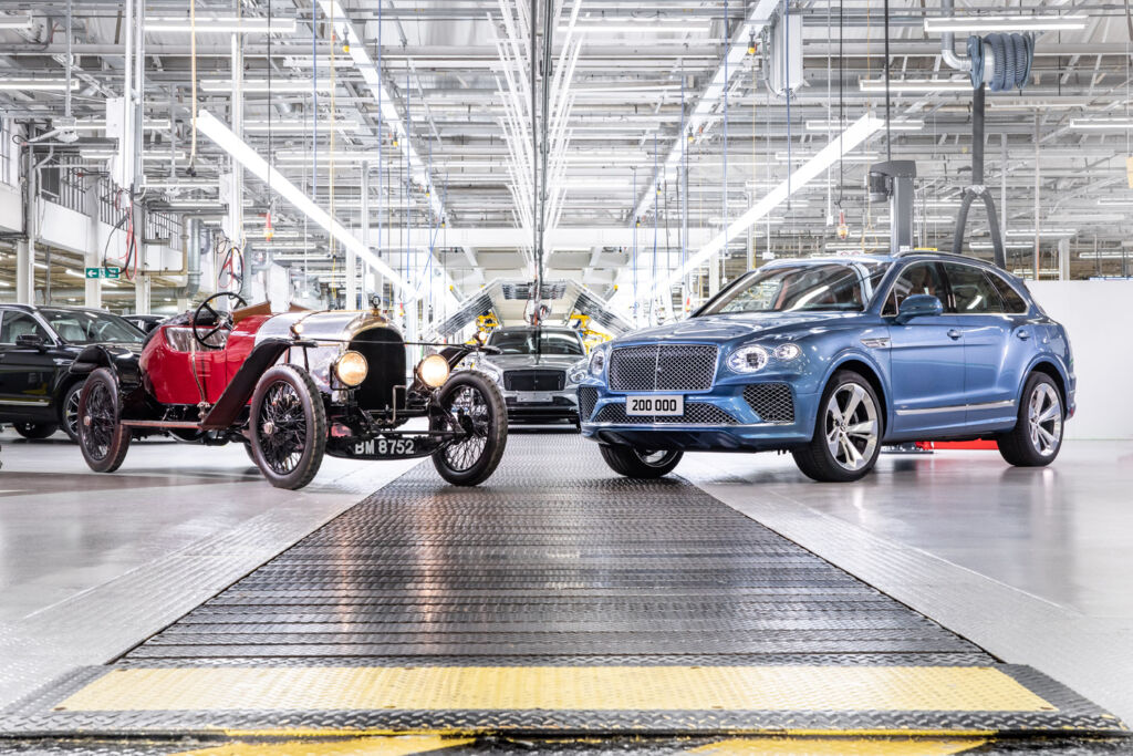 Bentley Reaches an Incredible Milestone with its 200,000th Luxury Car