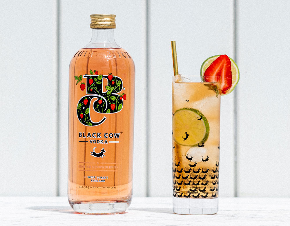 A Taste Of Summer With Black Cow & English Strawberries Vodka 3