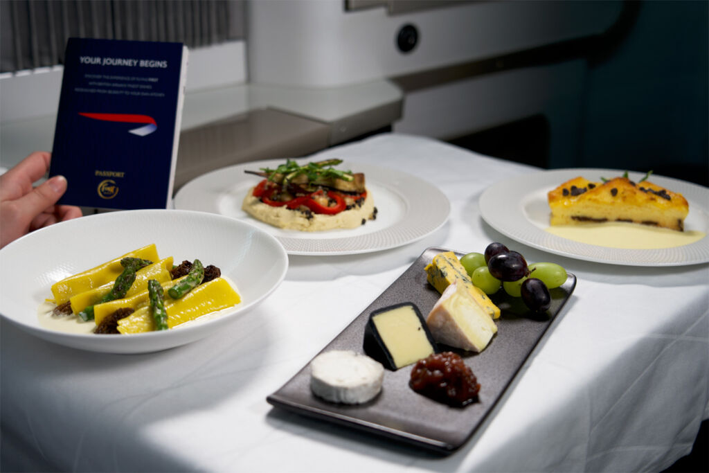 BA's First Cabin Meal Kits Bring Luxury In-flight Dining into Your Home