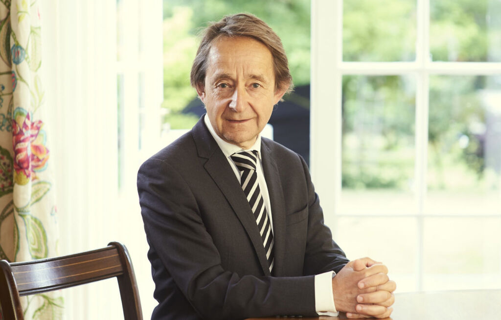 British Historian and political author Sir Anthony Seldon