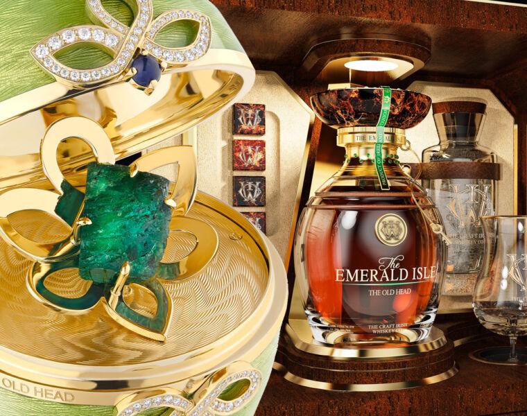 Craft Irish Whiskey Co Emerald Isle Collection