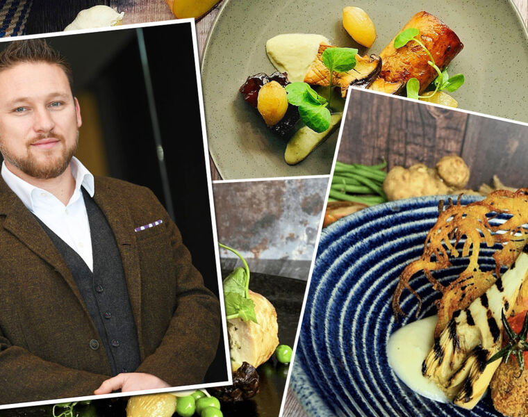 Peter Hayward Puts Daniel Hulme's One Fine Dine to the Taste Test