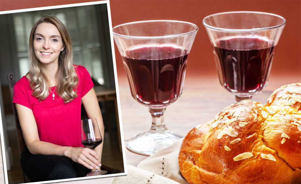 Helena Nicklin explaining whether Kosher wine have a different taste compared to a typical wine