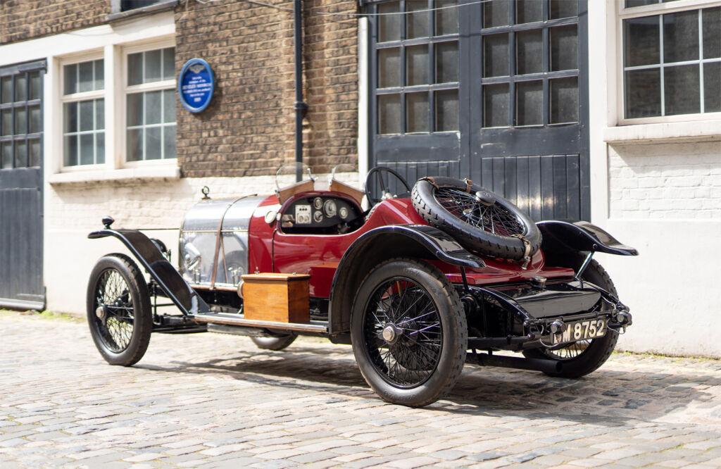 EXP 2 The world's oldest surviving Bentley