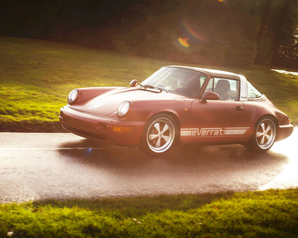 Everrati electric classic Porsche 911