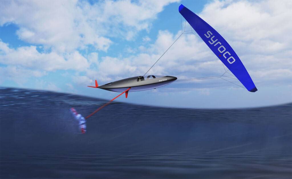A rendered image showing how the Syroco Speed Craft works