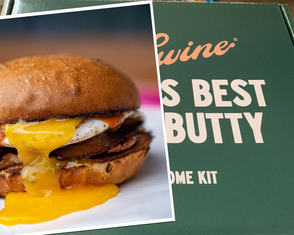 Le Swine's British Bacon Butty Kit is Pure Luxury for the Mouth