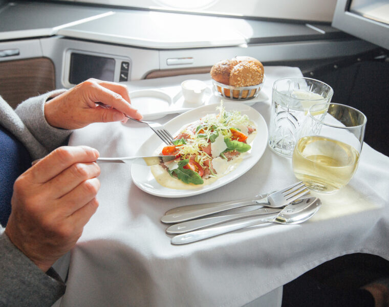British Airways First Cabin Meal Kit lets you experience luxury in-flight dining at home