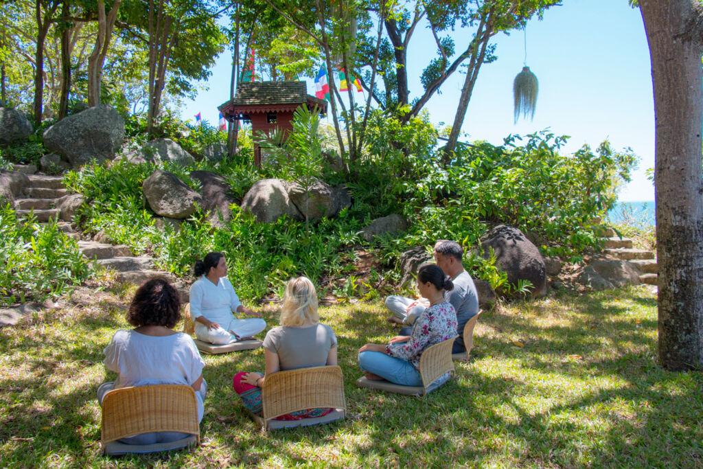 the Kamalaya Wellness Sanctuary and Holistic Spa in Thailand