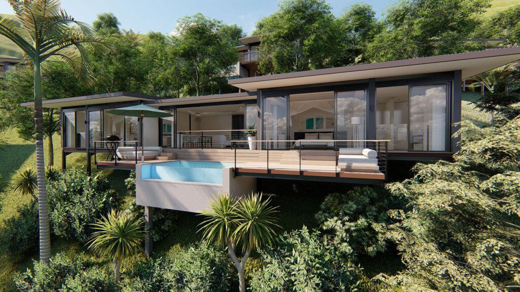 Selong Selo Resort & Residences hillside luxury villa