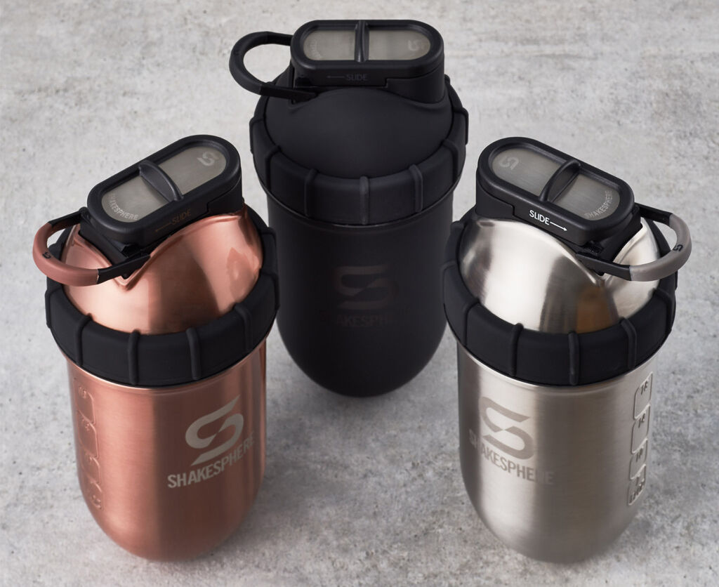The three colours the tumblers are available in