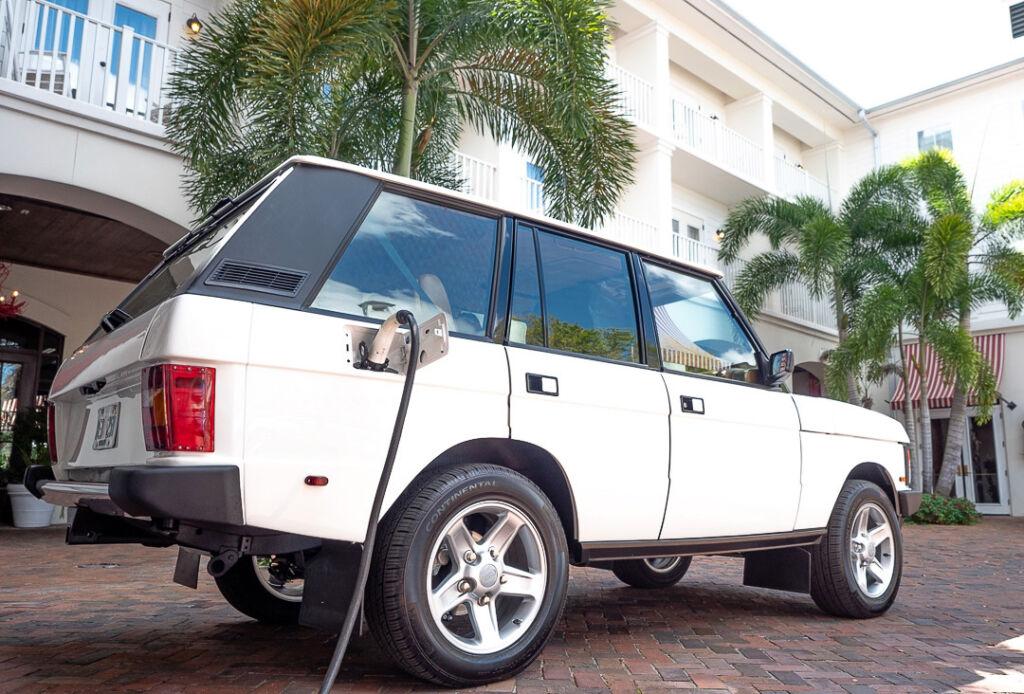E.C.D. Automotive Design Gives a Range Rover Classic a 21st Century Heart
