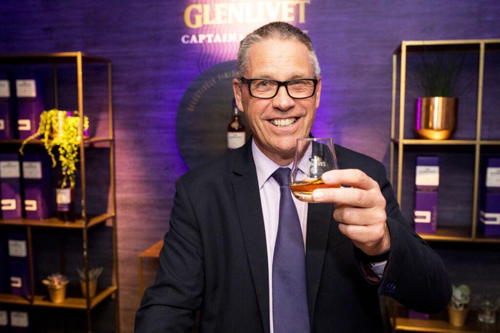 The Glenlivert Master Distiller Alan Winchester