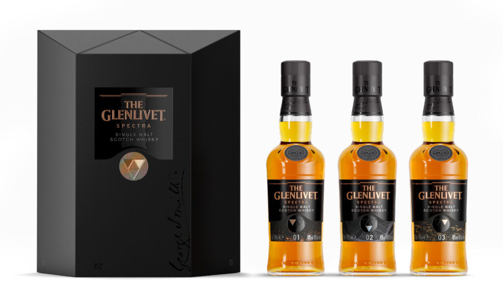 The Glenlivet Spectra Whisky Trio