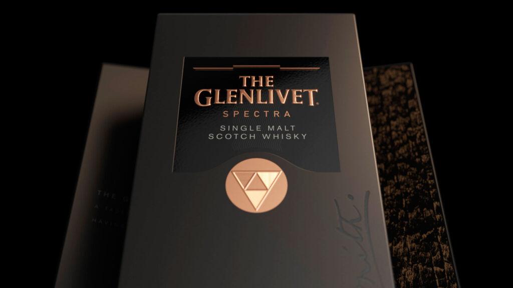 The Glenlivet Spectra Whisky box