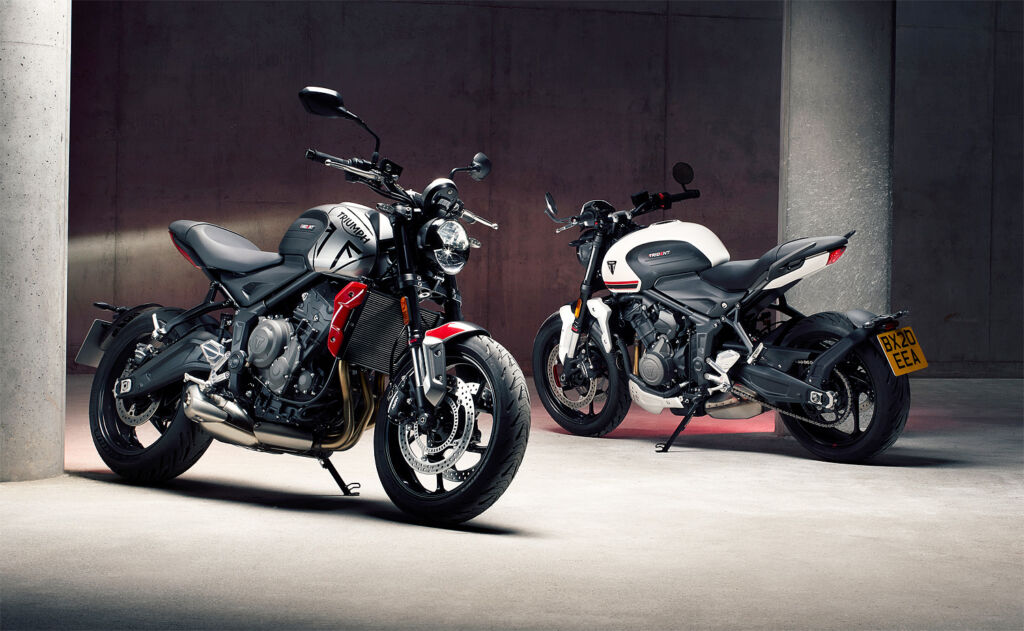 The Triumph Trident 660 Delivers Tons of Power and Pleasure