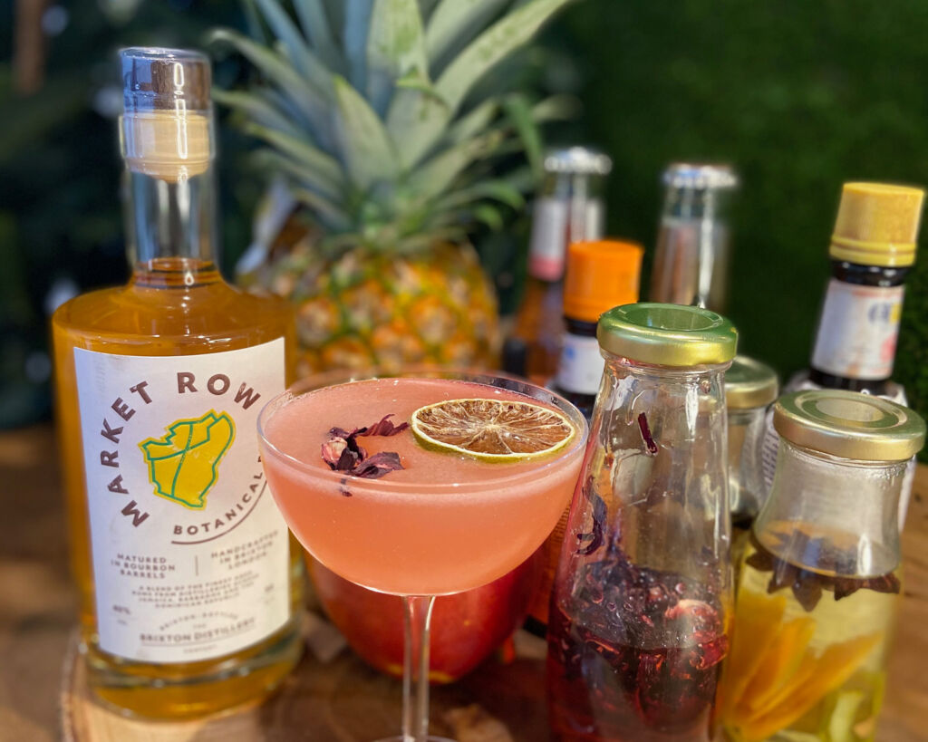 Market Row Botanical Rum is Straight Talking, Inclusive and Made in Brixton