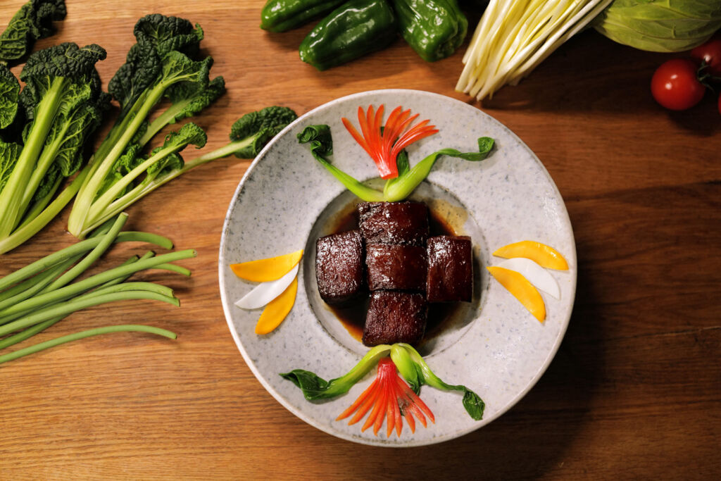 A delicious Japanese meat based dish