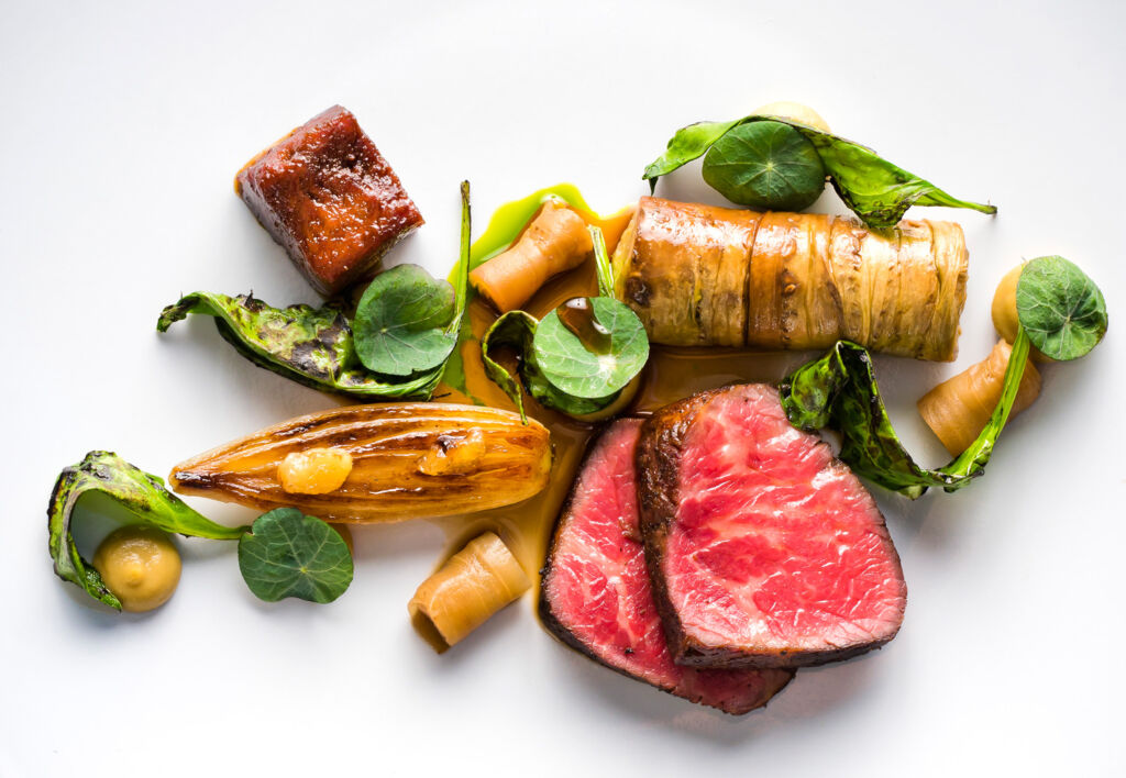 A dish by Chef Dan McGeorge of Rothay Manor