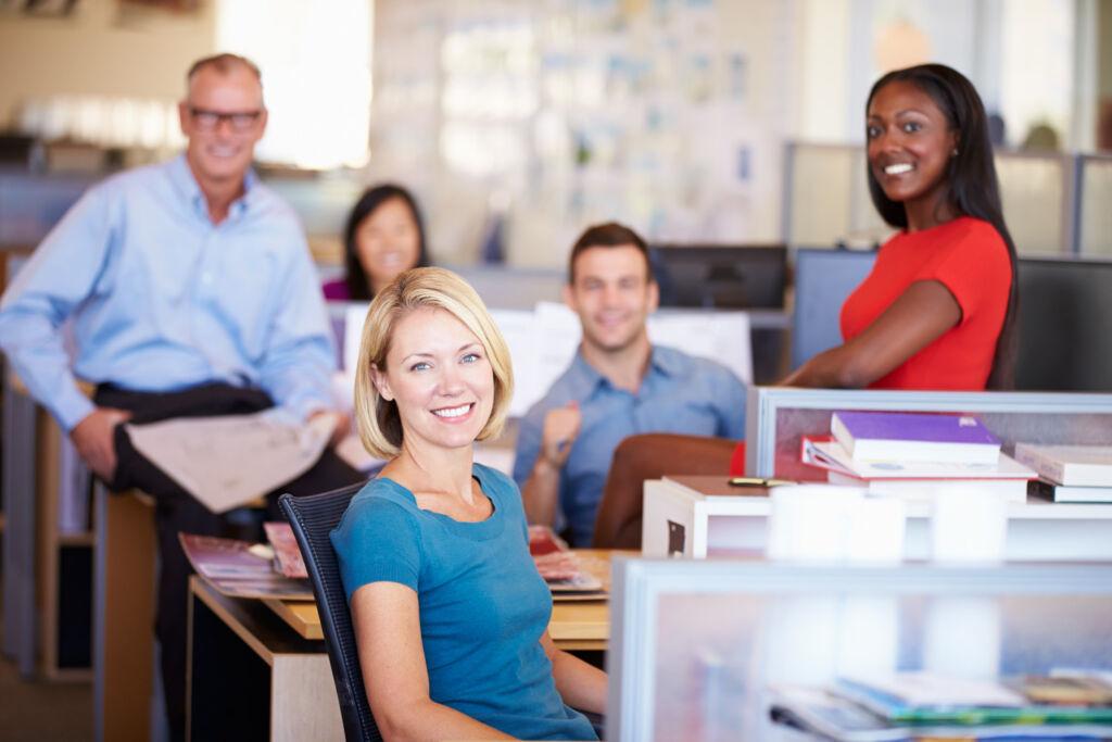 People working at AfrAsia Bank