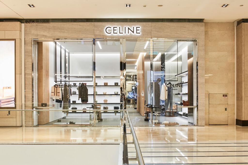 Brutalist Fashion – Inside Celine's New Store at Pavilion Kuala Lumpur