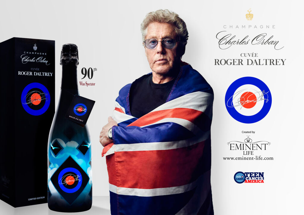 Champagne Cuvée Roger Daltrey from Eminent Life