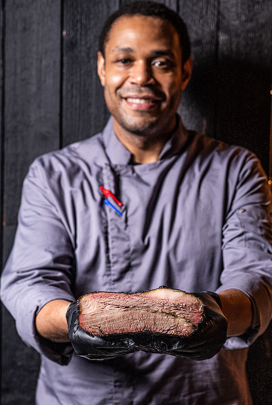 Smoke and Barrel Head Chef Chris Tuthill