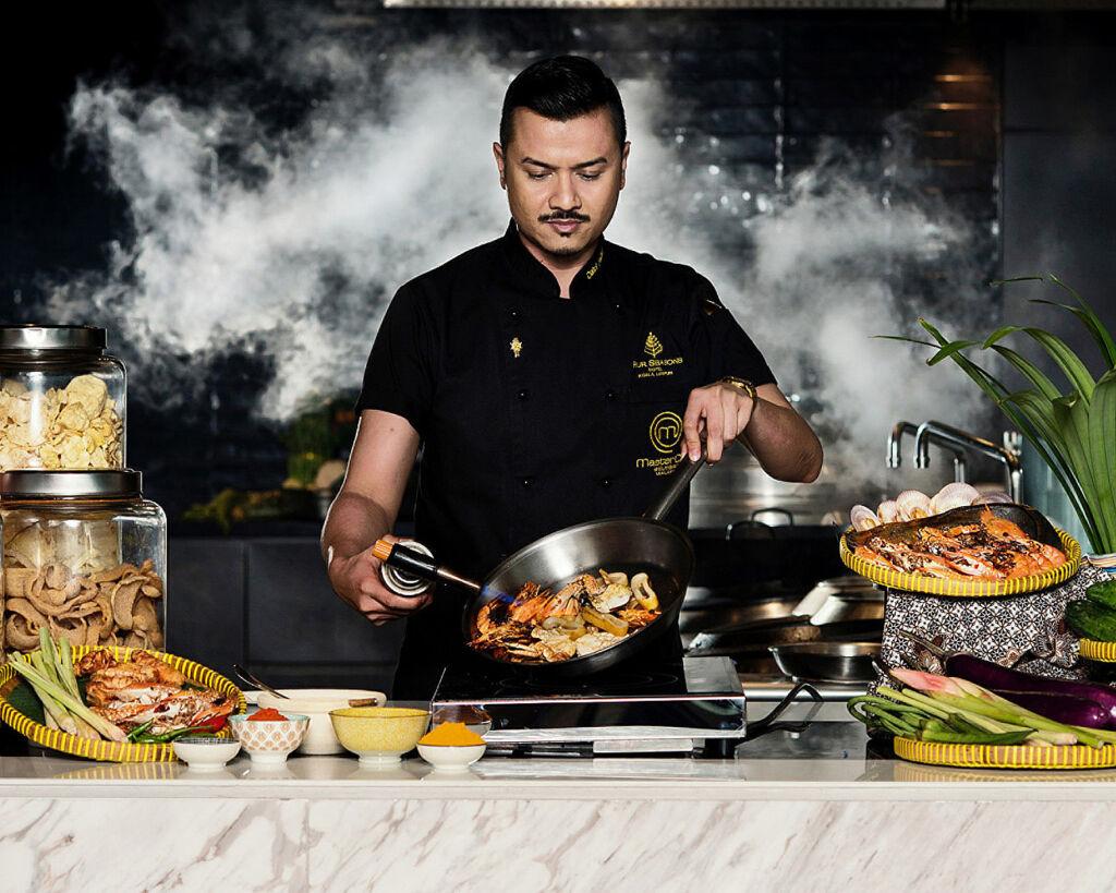 Chef Fazley the man behind the Four Seasons KL Feast