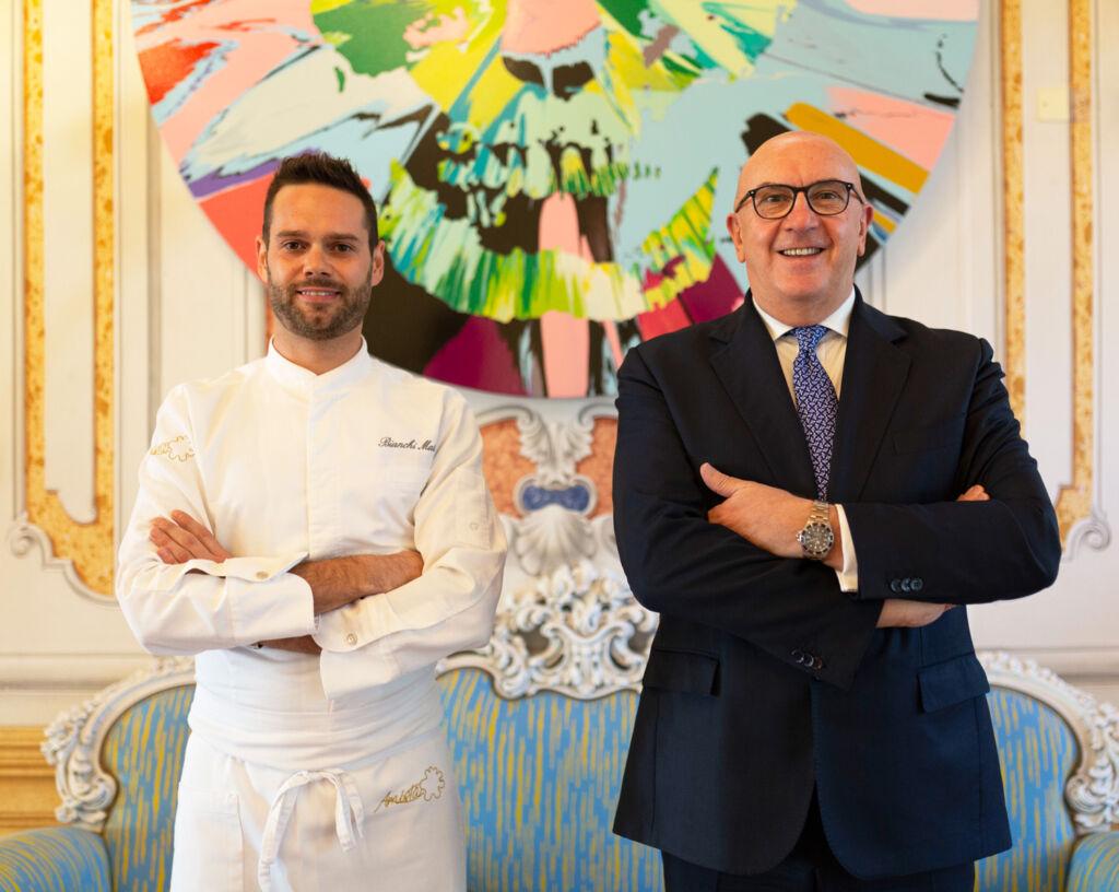Chef Mattia Bianchi and General Manager Luigi Leardini