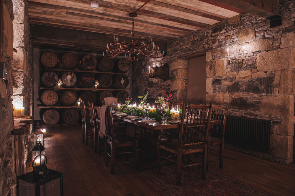 Dining at the Craigellachie Hotel