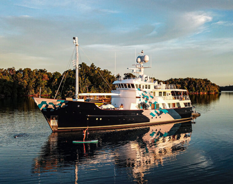 For the Very First Time Explorer Yacht Dardanella is Available for Charter