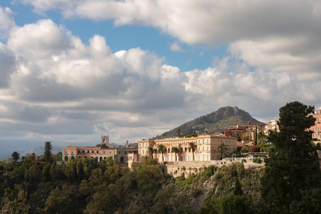 Exterior view of the Four Seasons San Domenico Palace