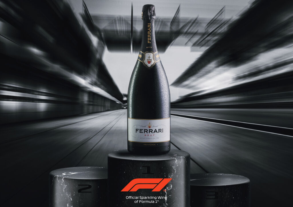 Ferrari Trento Sparkling Wine Chosen For Celebratory Fizz On F1 Podiums