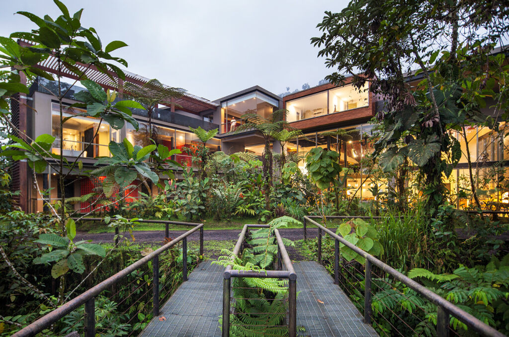 Forest-to-Coast Wellness experience Mashpi Lodge in Ecuador