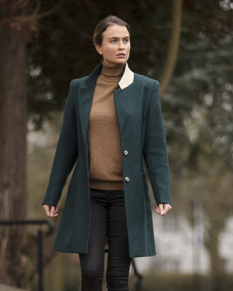 The Wentworth Jacket being worn by a model