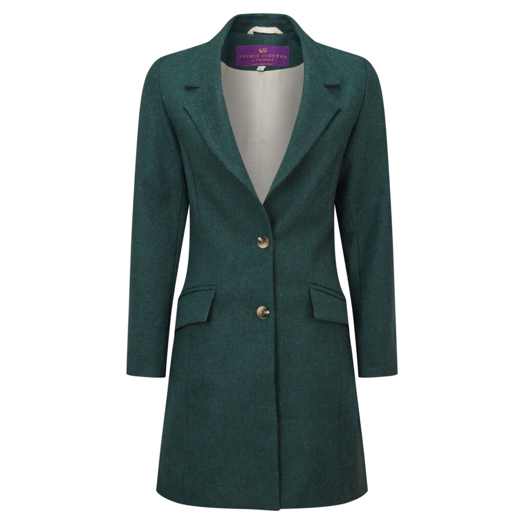 A cut-out image of the Frimble Teal Wentworth Jacket