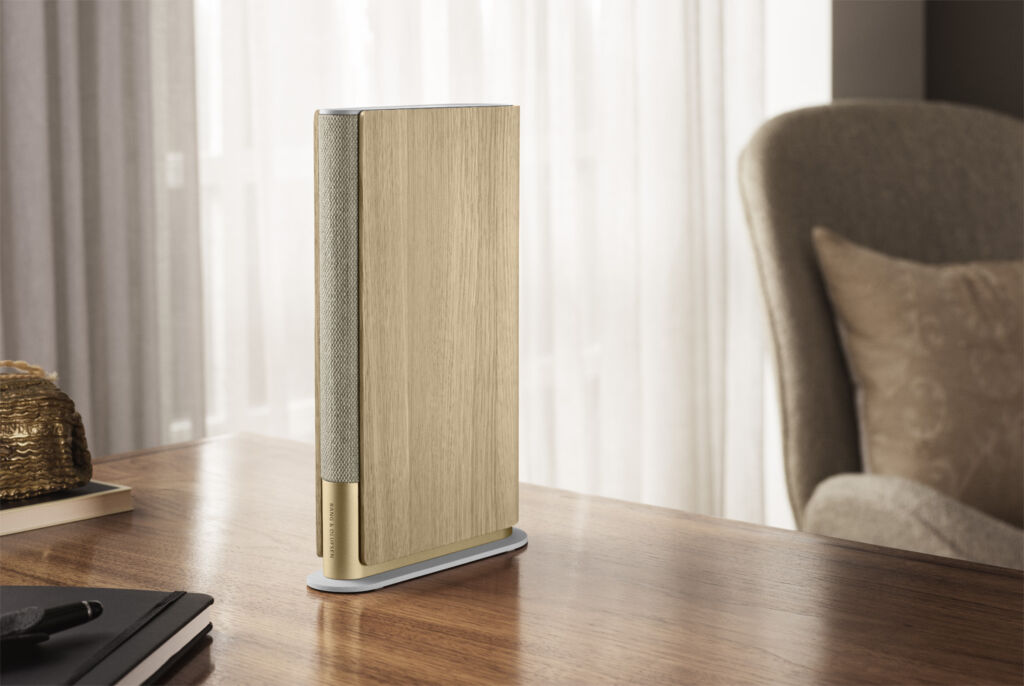 Image showing the similarity between a standing book and the speaker