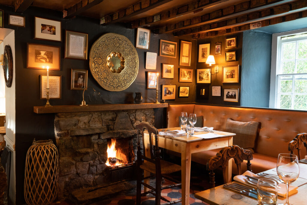 Inside the George at Alstonefield
