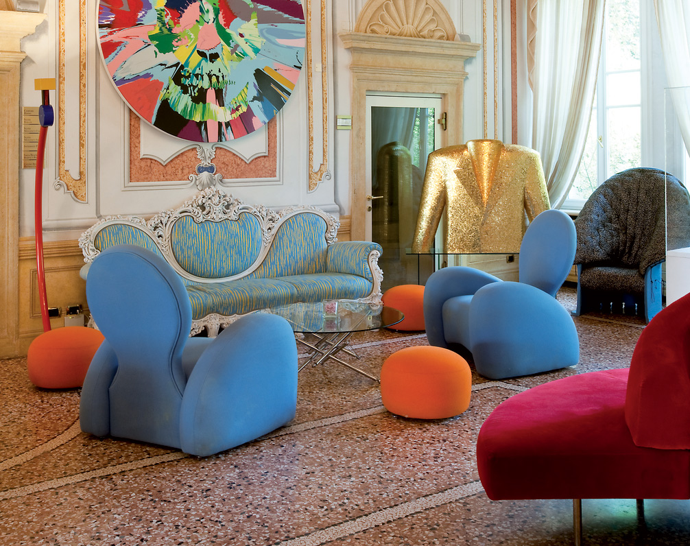 Some of the incredible furniture pieces for guests to use