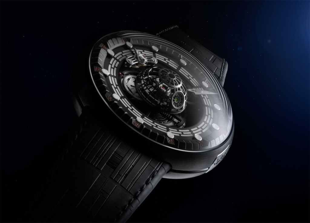 The Death Star-inspired Tourbillon