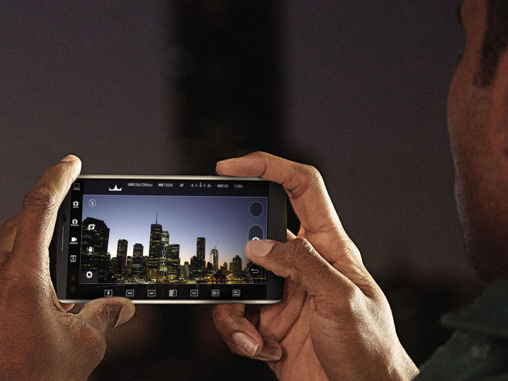 LG is the third most popular mobile brand in the US