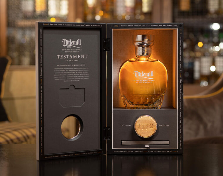 Littlemill Testament Whisky Harks Back To The Distillery Of Old