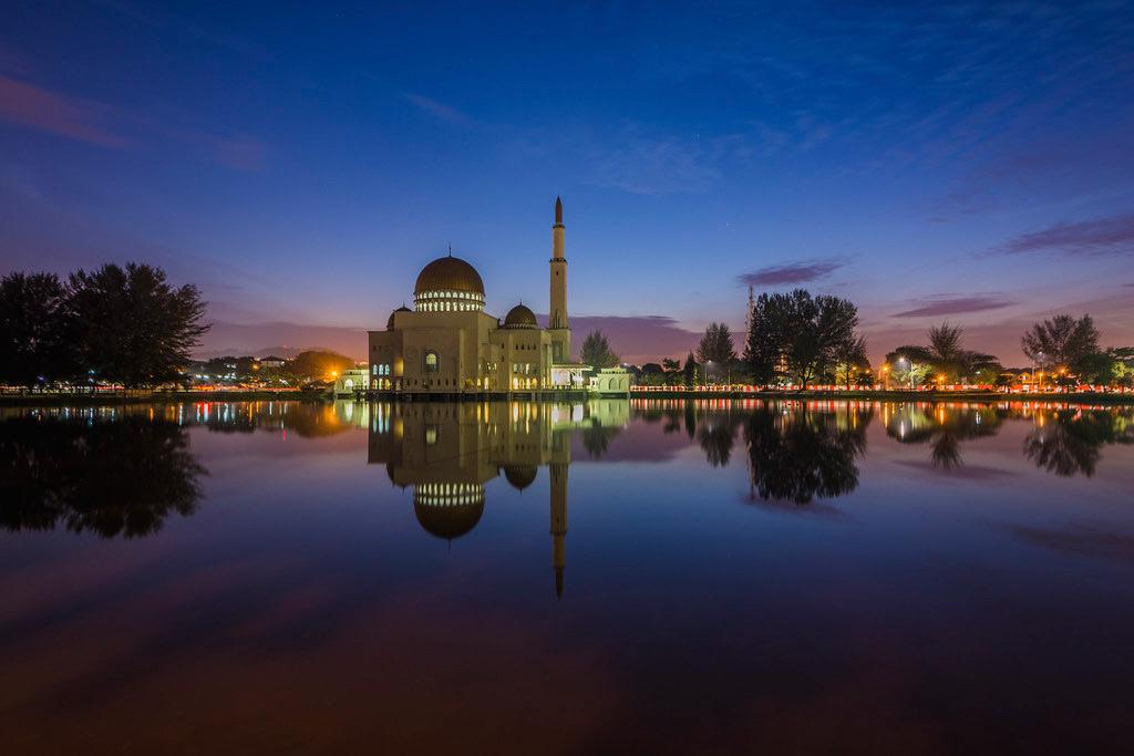 As-Salam Mosque located in Taman Puchong Perdana