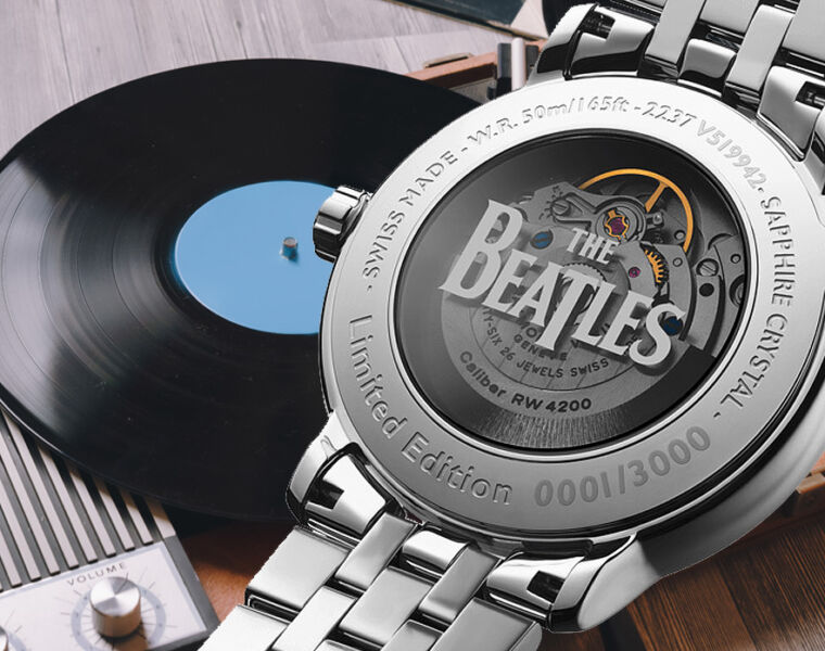 Raymond Weil's Music Icon Beatles Watches Takes you Off the 'Winding Road'