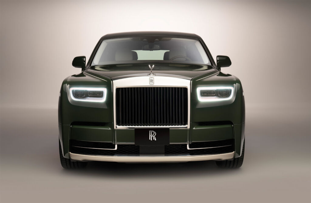 The Rolls-Royce Phantom Oribe is a Bespoke Marvel with Gallic Flair