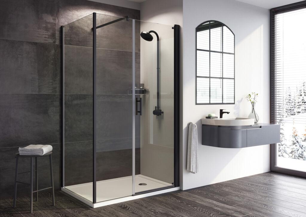 The Roman Innov8 Range of Showers Get New Matt Black & Chrome Finishes