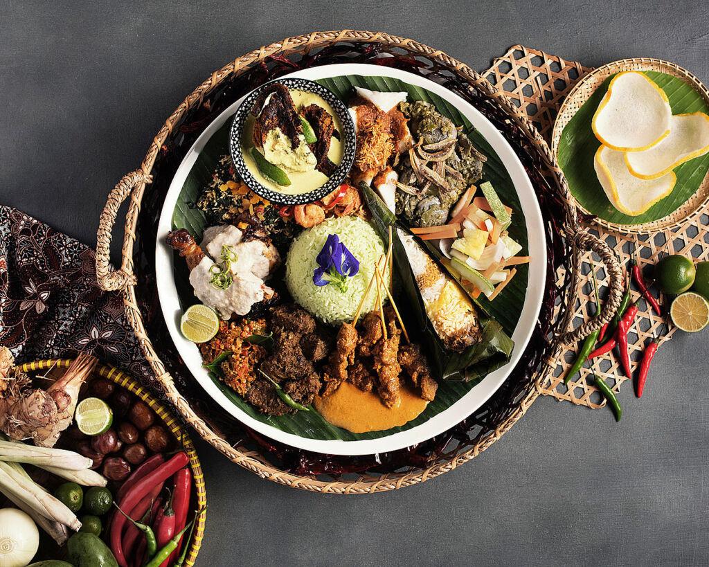 The Sajian Merentasi Zaman signature dish