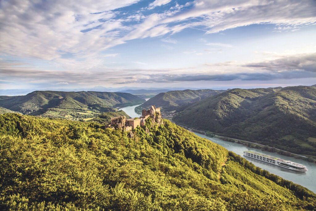 Looking over the Wachau Valley