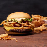 Shake Shack & Chef Neil Rankin Unveil their Vegan Crispy Shallot Burger